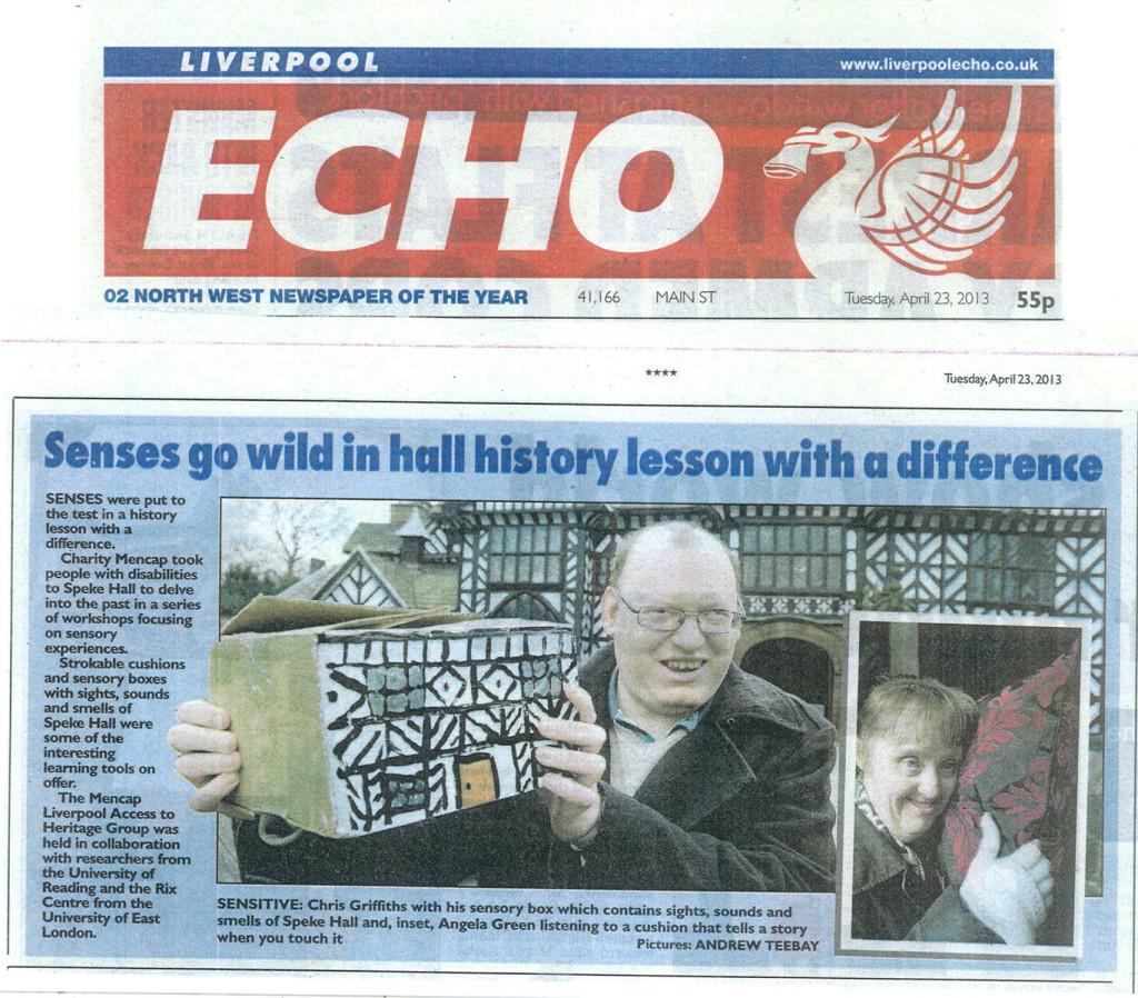 Liverpool Echo Sensory Stories at Speke Hall