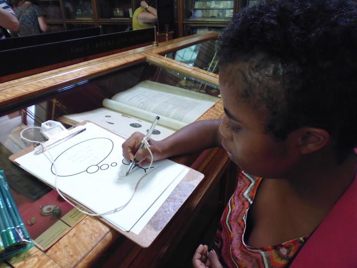 Adelana draws