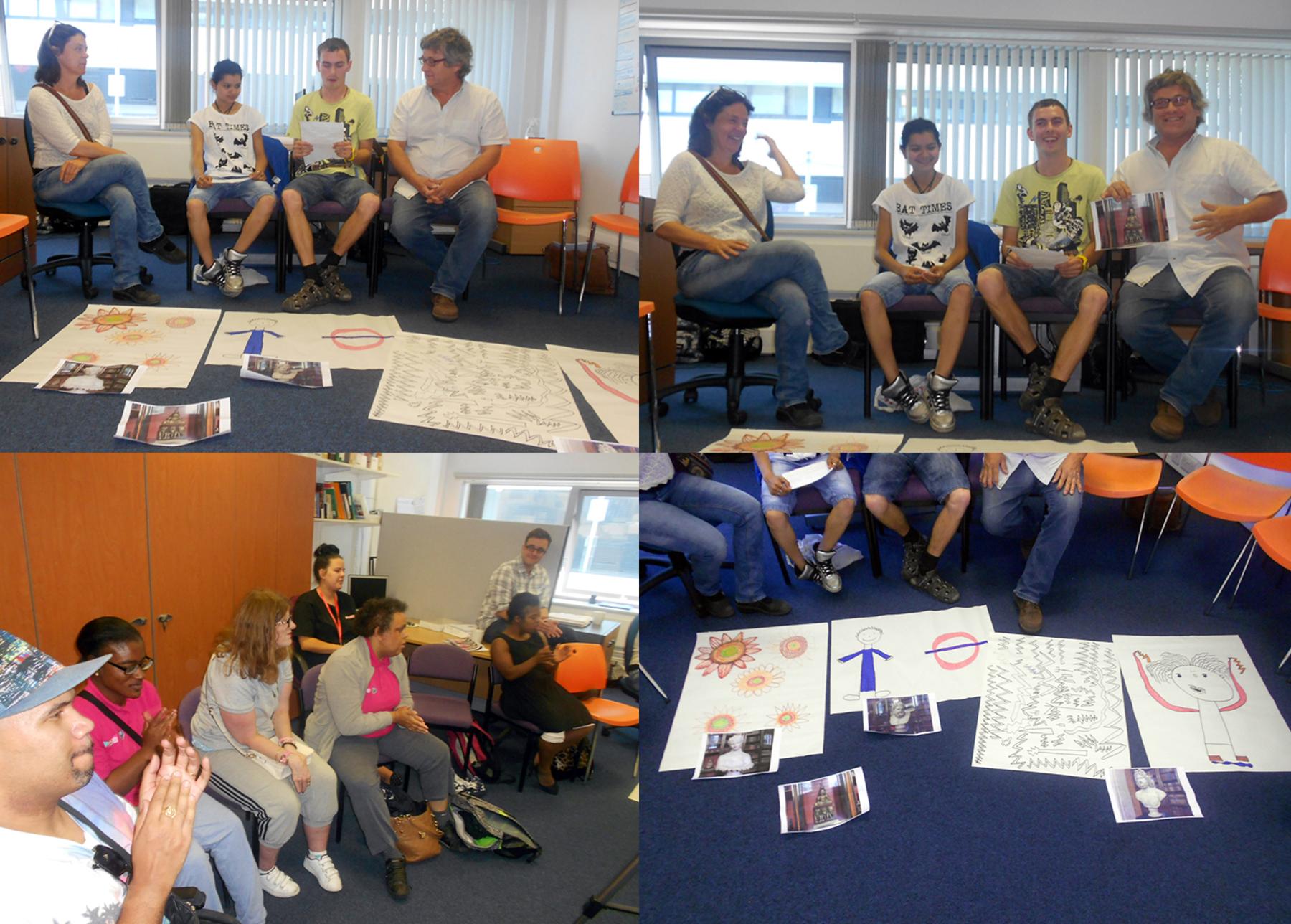 Austrian visitors Present Ideas