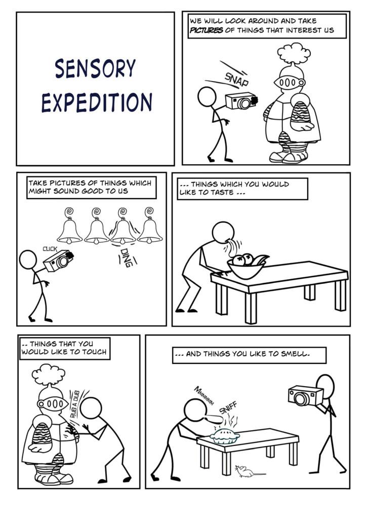 Cookbook Sensory Expedition