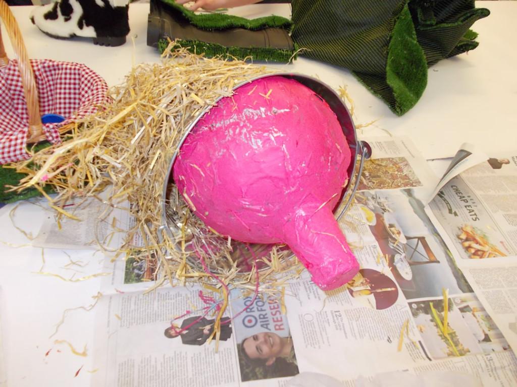 Rachel's pig-in-a-bucket
