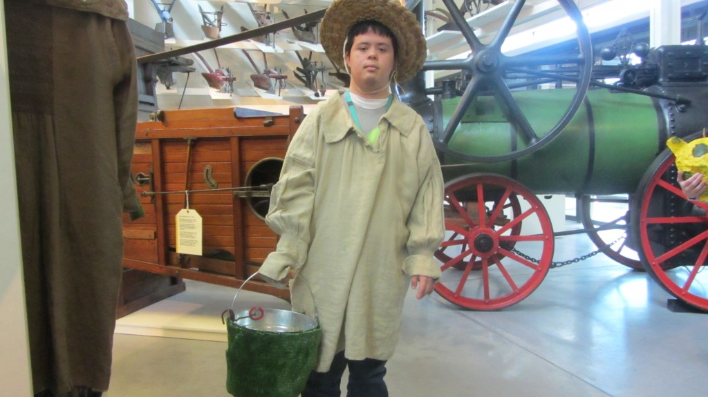 Guillermo as a farm worker