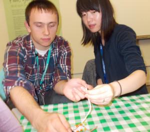 Luke and Cathy LittleBits
