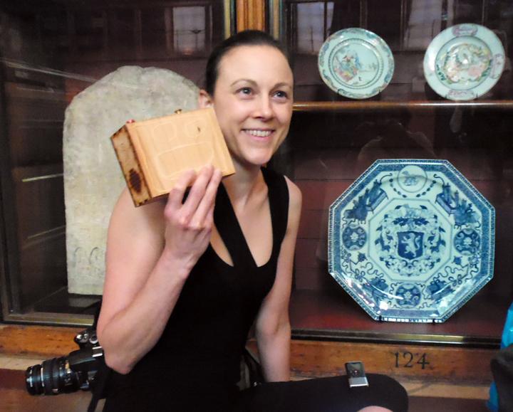 Natasha with Ryans Box