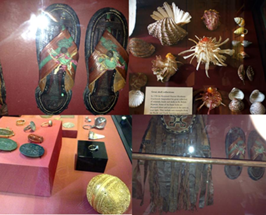 Objects chosen by Sam, Julia and Adalana