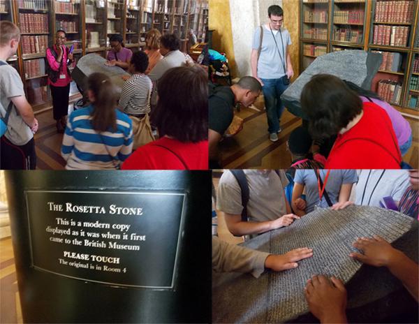 Touching Replica Rosetta